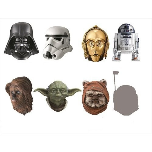 STAR WARS REAL MASK MAGNET COLLECTION -BEST SELECTION- BOX商品 1BOX=8個入り、全7種類